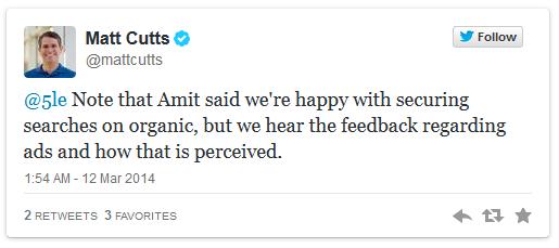 Matt Cutts Twitter