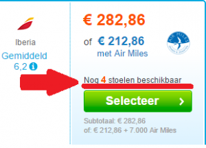 Voorbeeld urgentie reisbranche