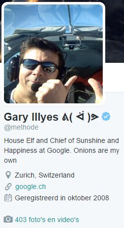Gary Illyes Google