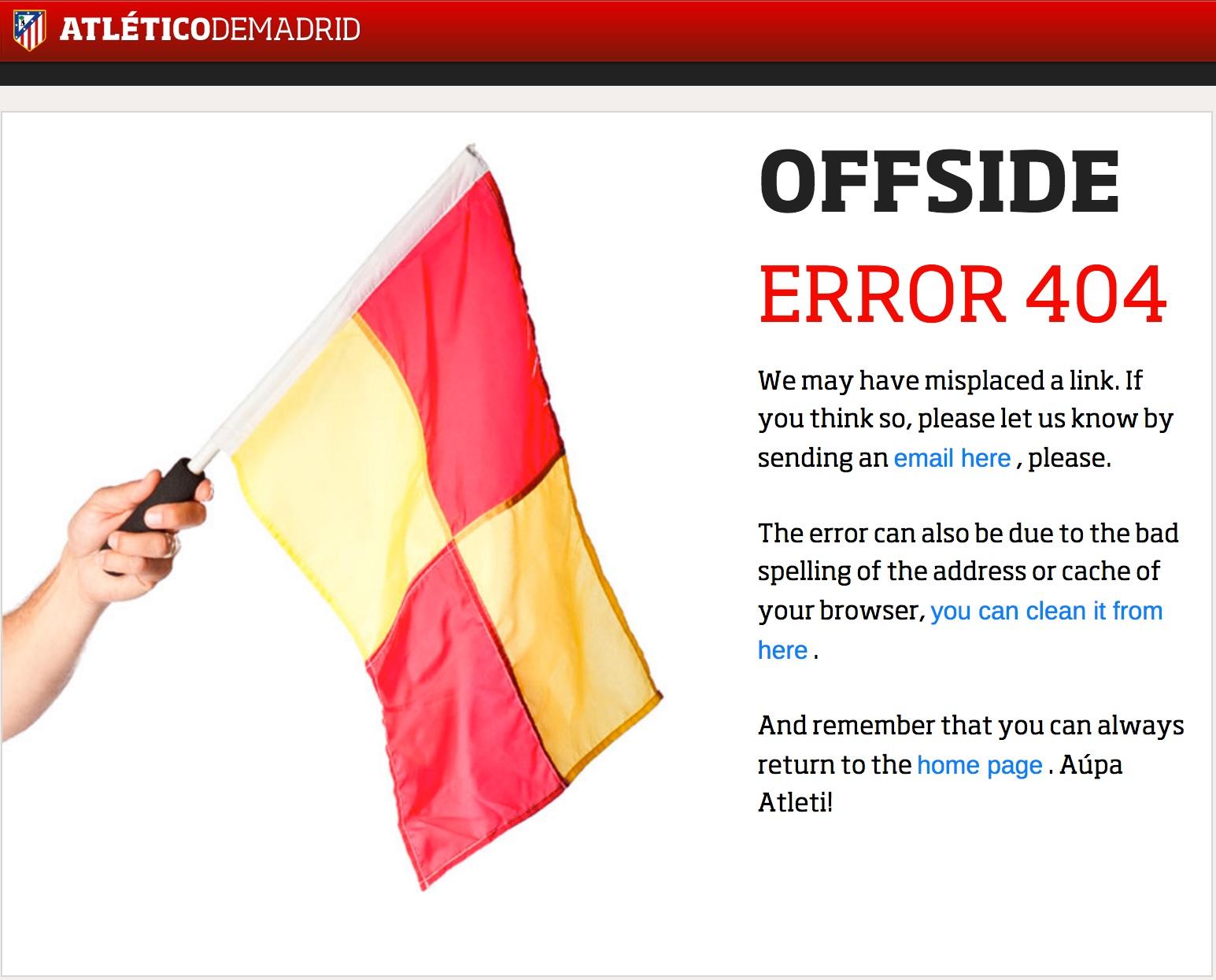 404-pagina Atlético de Madrid