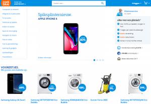 Coolblue dynamische desktop website