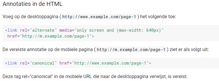 Mobile First Index - do't en dont's mobiele website