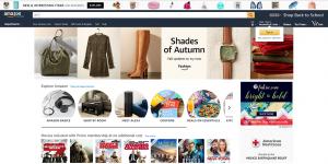 Mobile first Index - Amazon desktop website