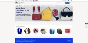 Mobile first Index - ebay desktop website