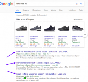 Nike maat 45 Google zoeken