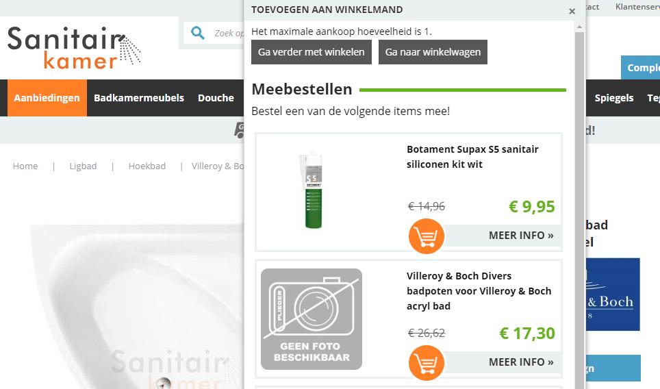 upsellen & crossellen - voordelen magento webshop