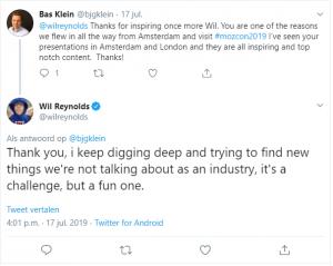 Wil Reynolds - Tweet Mozcon 2019
