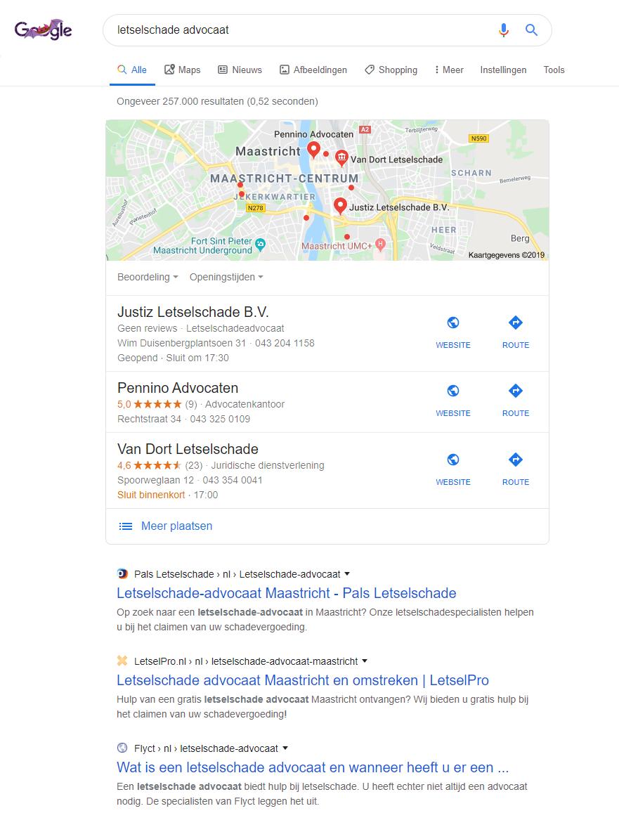 letselschade advocaat lokaal Maastricht