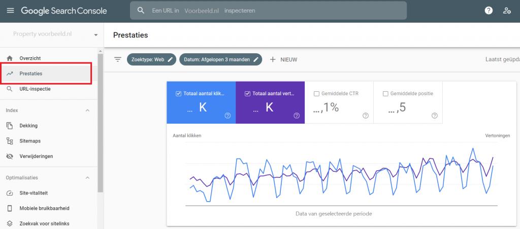 prestaties-google-search-console
