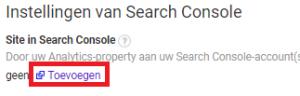 google-search-console-analytics-koppelen