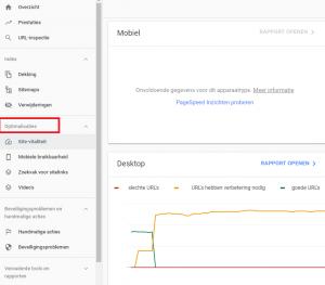 website-optimalisaties-google-search-console