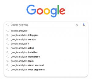 Google Analytics uitleg overzicht zoekmachine