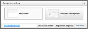 Google-analytics-dashboard-maken
